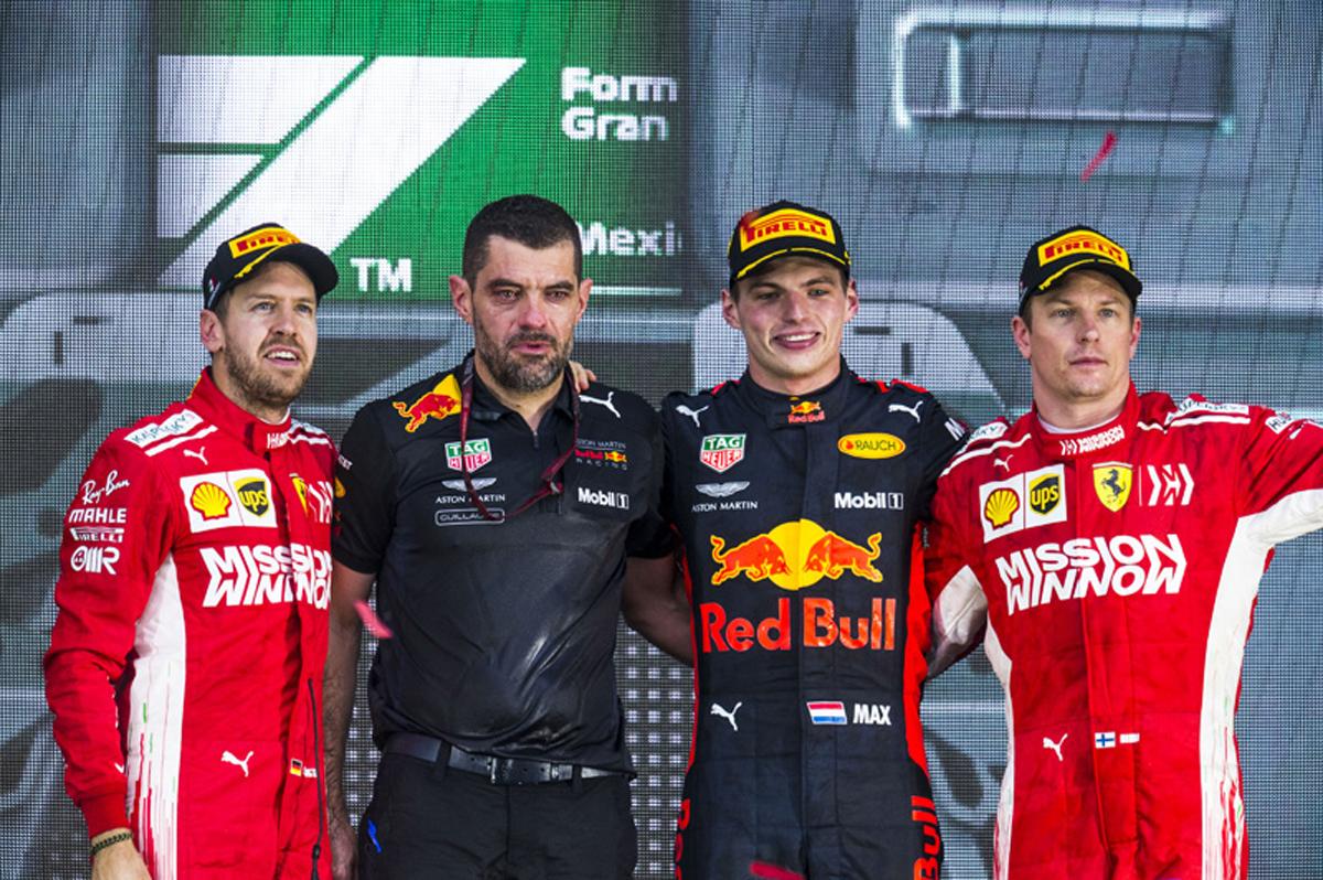 F1 メキシコGP 決勝