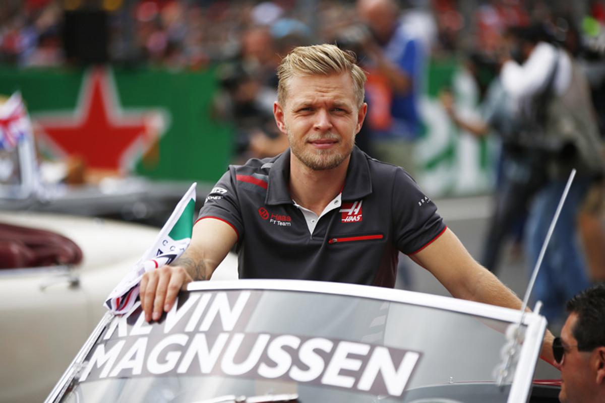F1 ケビン・マグヌッセン メキシコGP