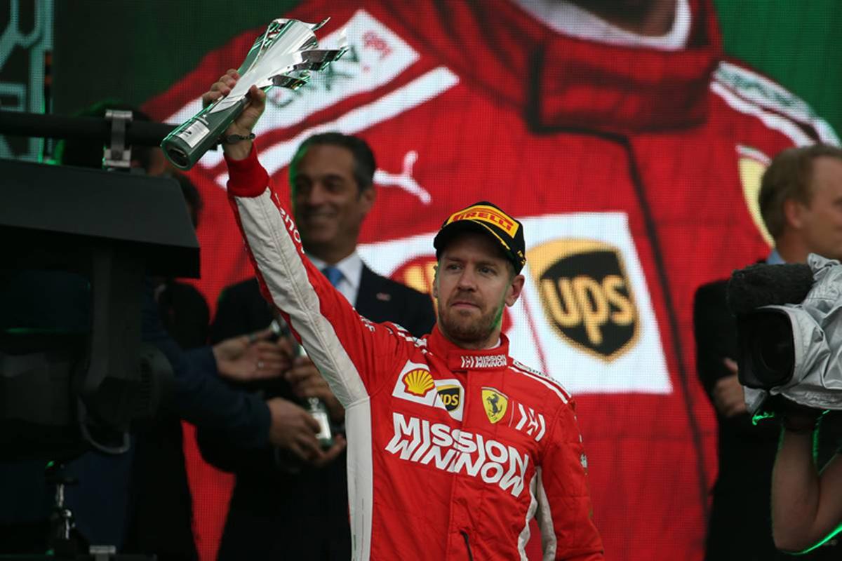 F1 フェラーリ メキシコグランプリ