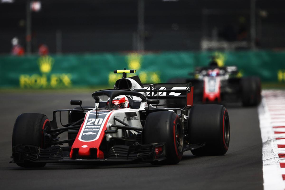 F1 ハースF1チーム メキシコグランプリ