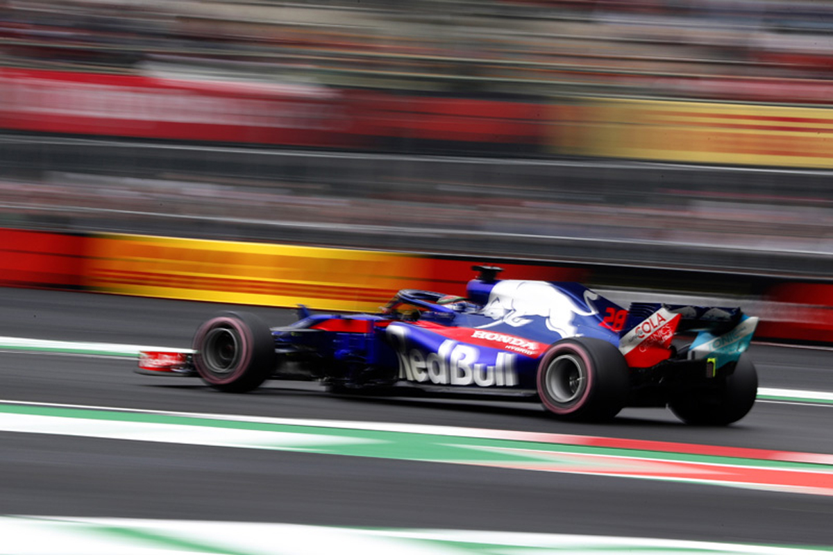 F1 ホンダF1 メキシコグランプリ