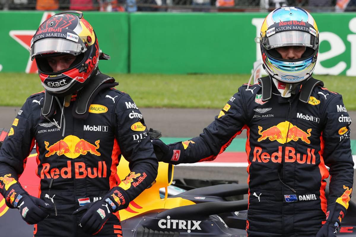 F1 マックス・フェルスタッペン ダニエル・リカルド
