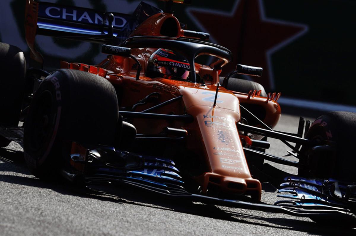 F1 マクラーレン メキシコグランプリ