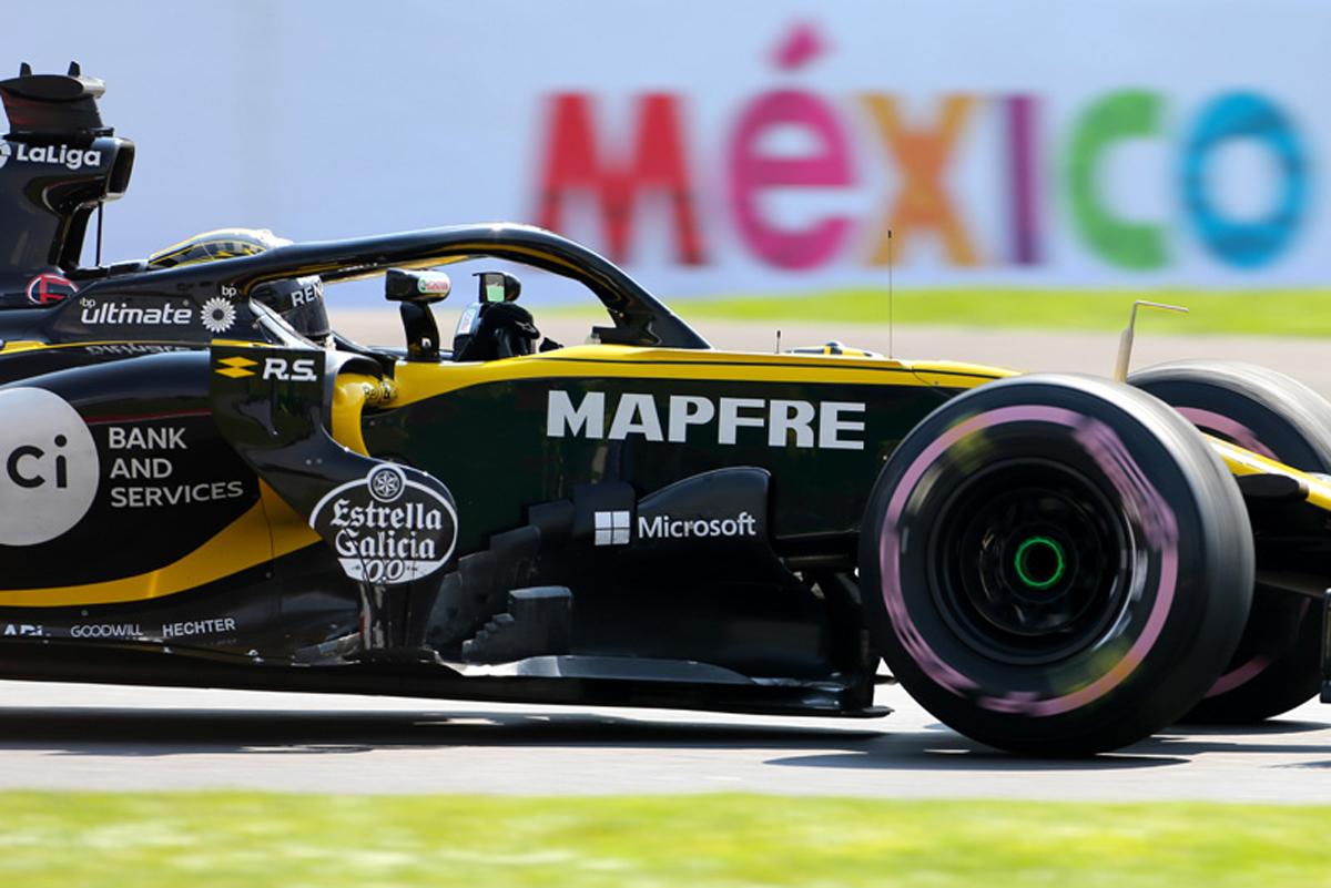 F1 ルノー メキシコGP