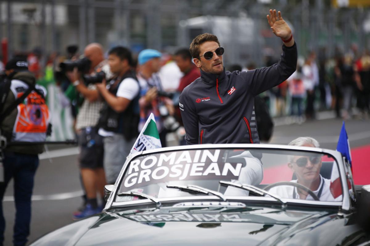 F1 ロマン・グロージャン メキシコGP