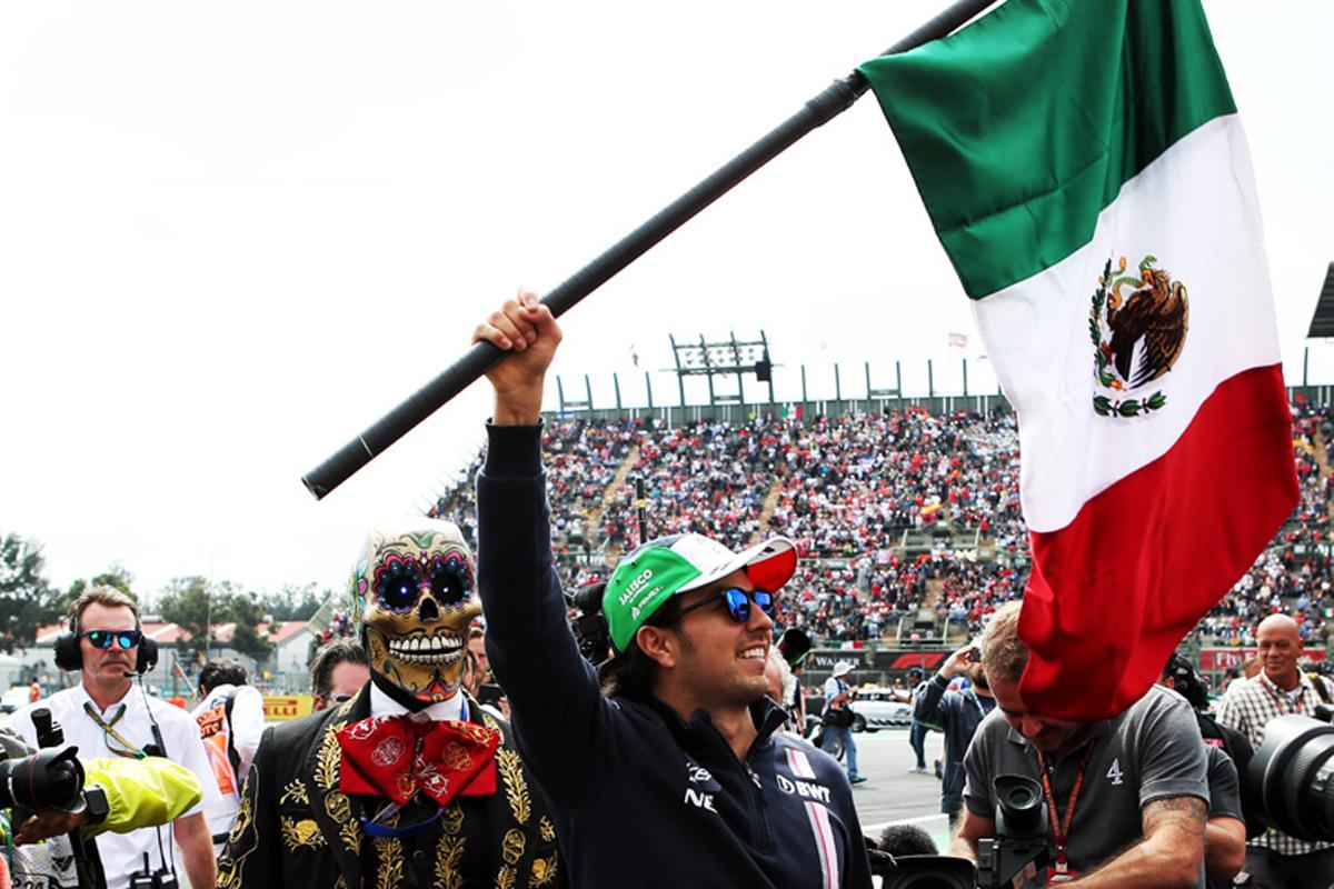 F1 セルジオ・ペレス メキシコGP
