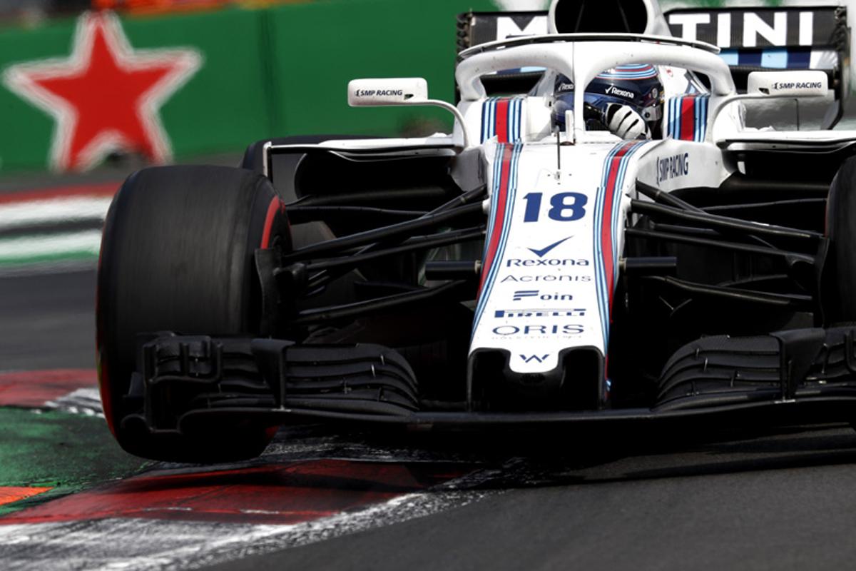 F1 ウィリアムズ メキシコグランプリ