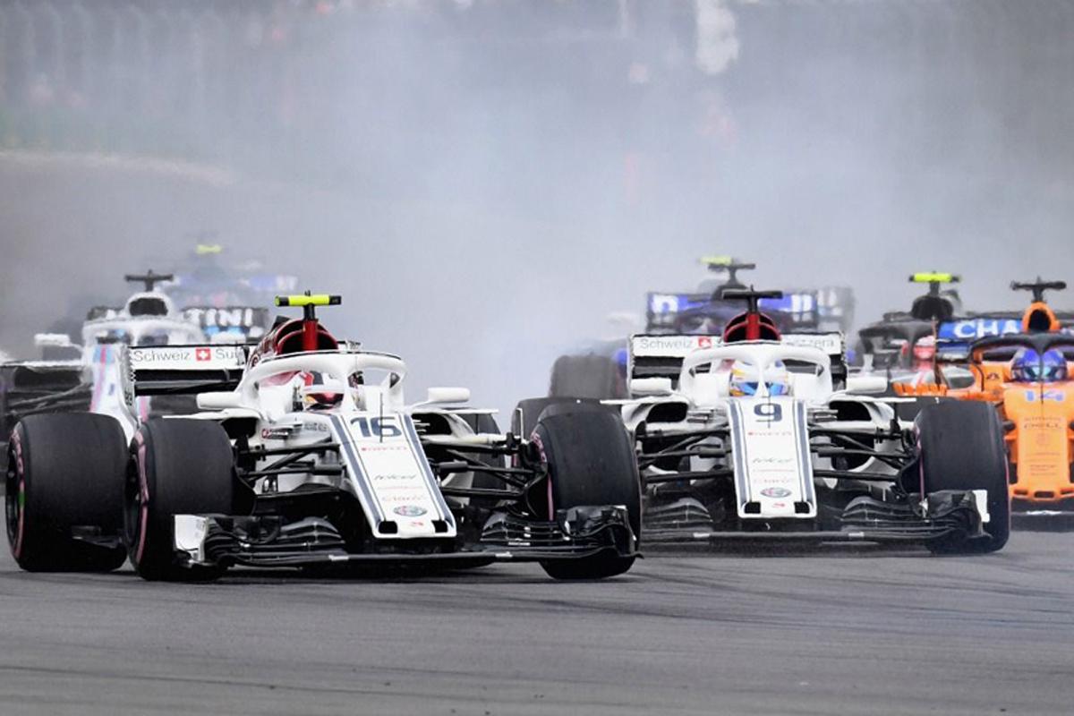 F1 マーカス・エリクソン ザウバー