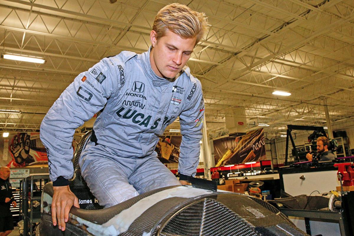 F1 マーカス・エリクソン インディカー