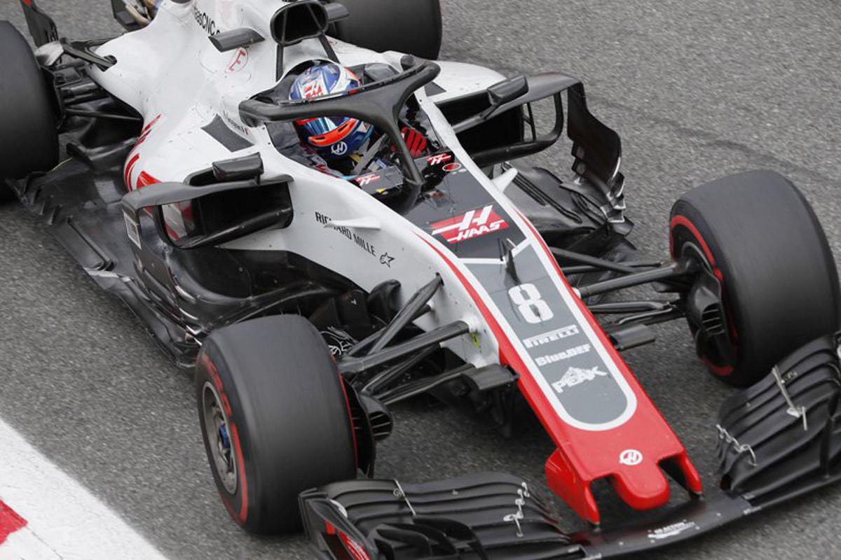 F1 ハースF1チーム ロマン・グロージャン