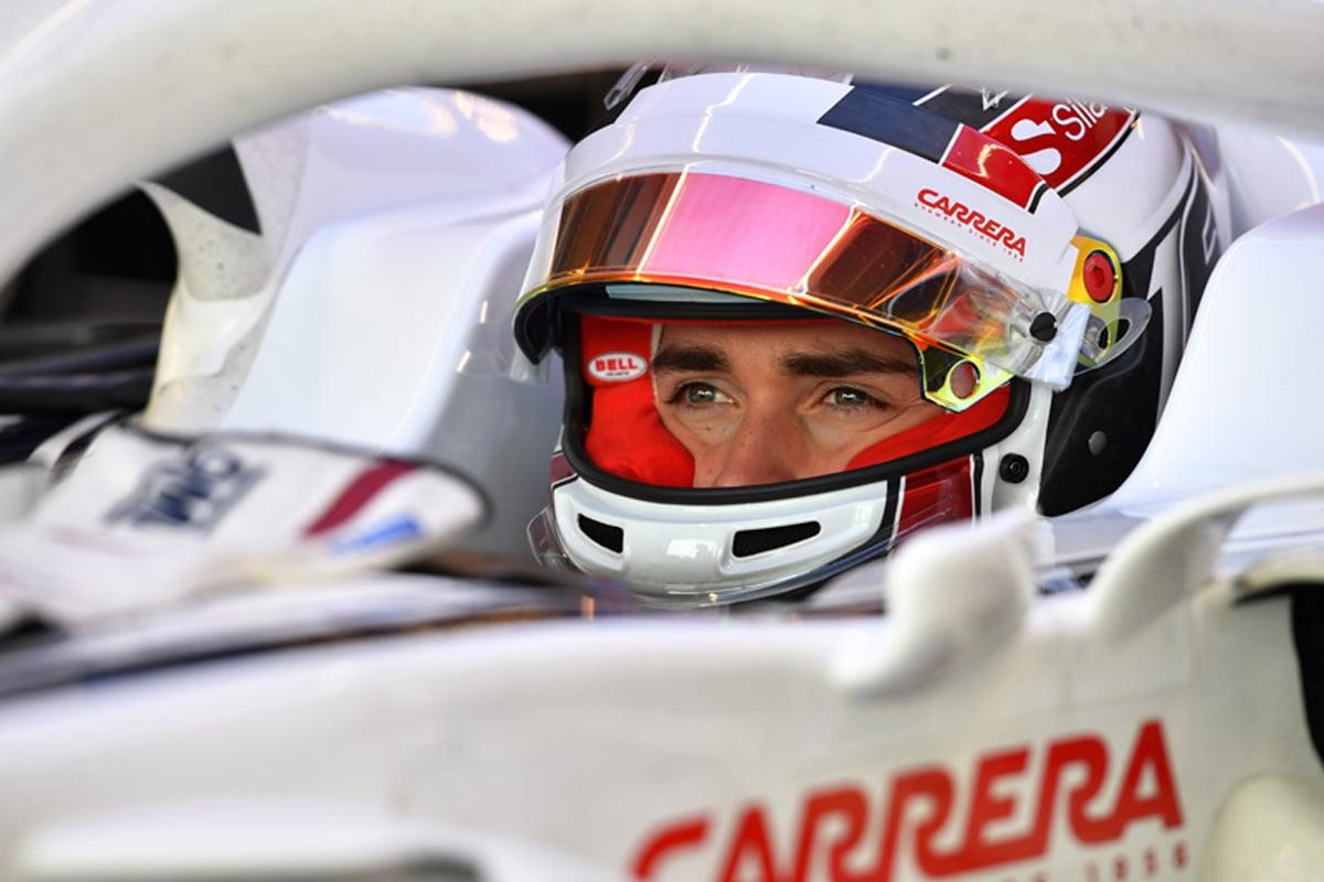 F1 シャルル・ルクレール フェラーリ ザウバー