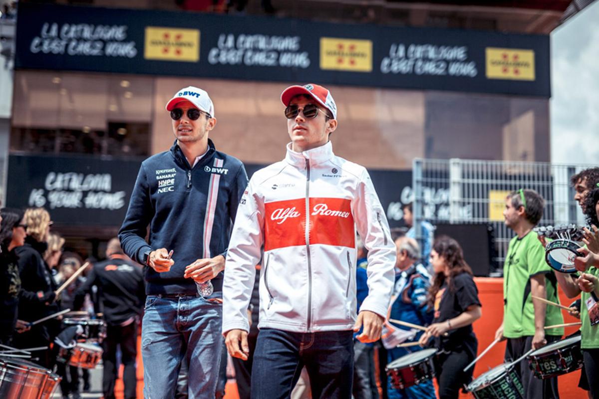 F1 エステバン・オコン シャルル・ルクレール