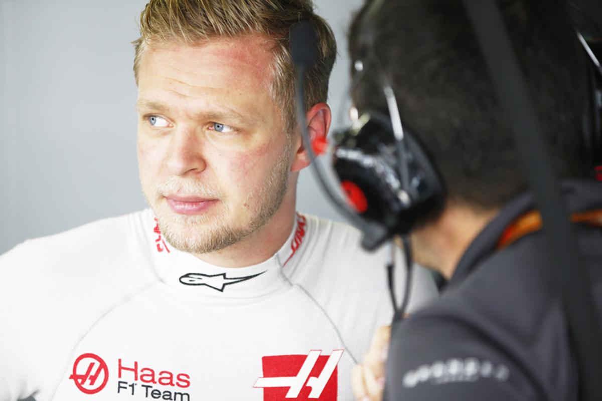 F1 ケビン・マグヌッセン ブラジルGP
