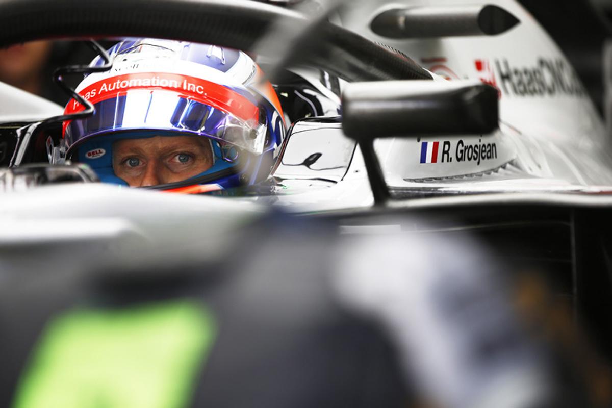 F1 ロマン・グロージャン ブラジルGP