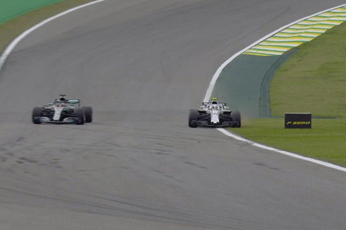 F1 ルイス・ハミルトン セルゲイ・シロトキン