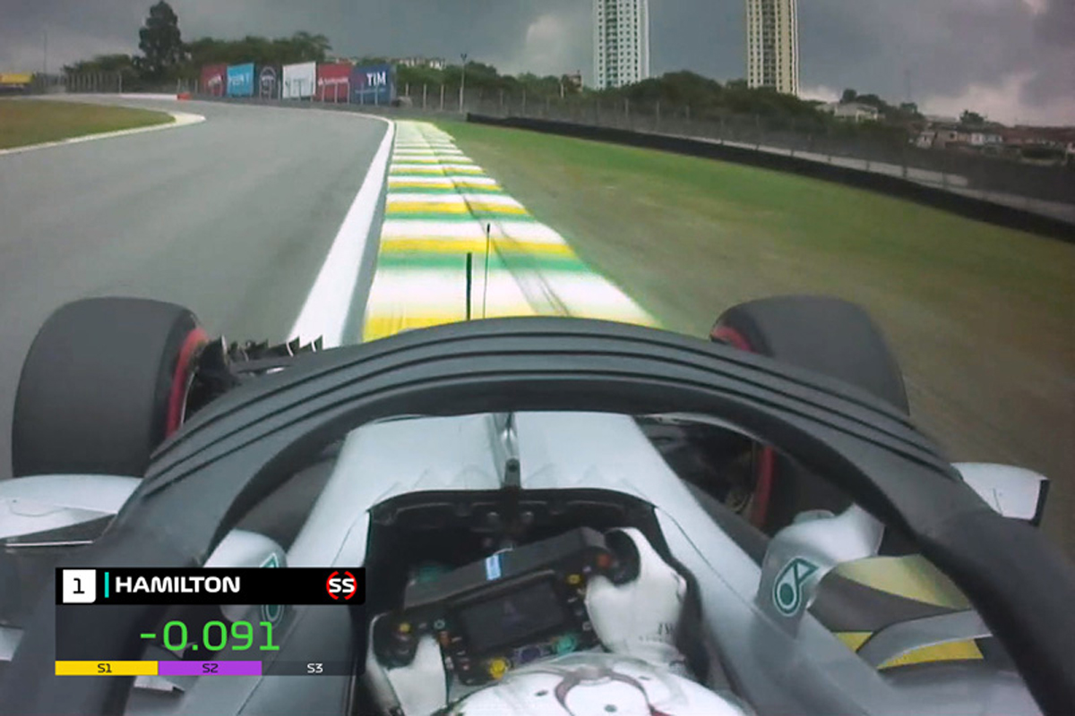 F1 ルイス・ハミルトン ブラジルGP ポールポジション