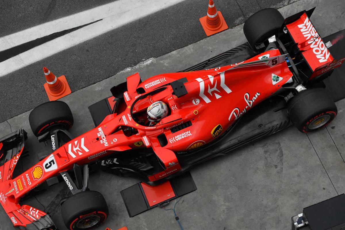 F1 セバスチャン・ベッテル ブラジルGP