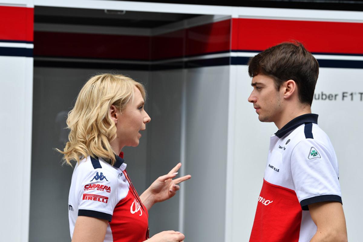 F1 シャルル・ルクレール ブラジルGP