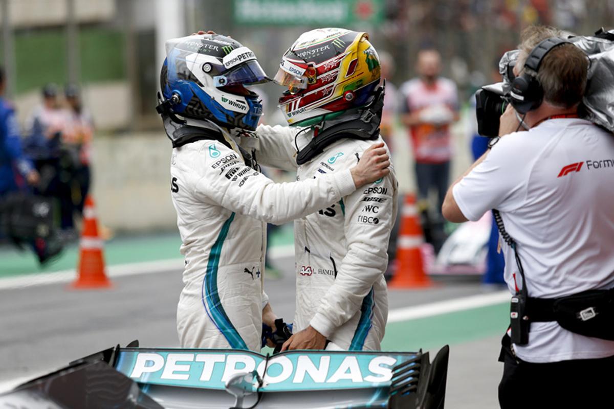 F1 バルテリ・ボッタス ブラジルGP