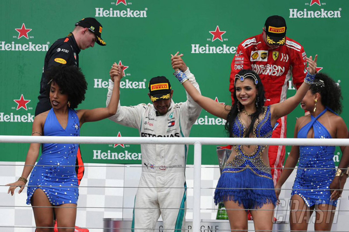 F1ブラジルGP 決勝 動画