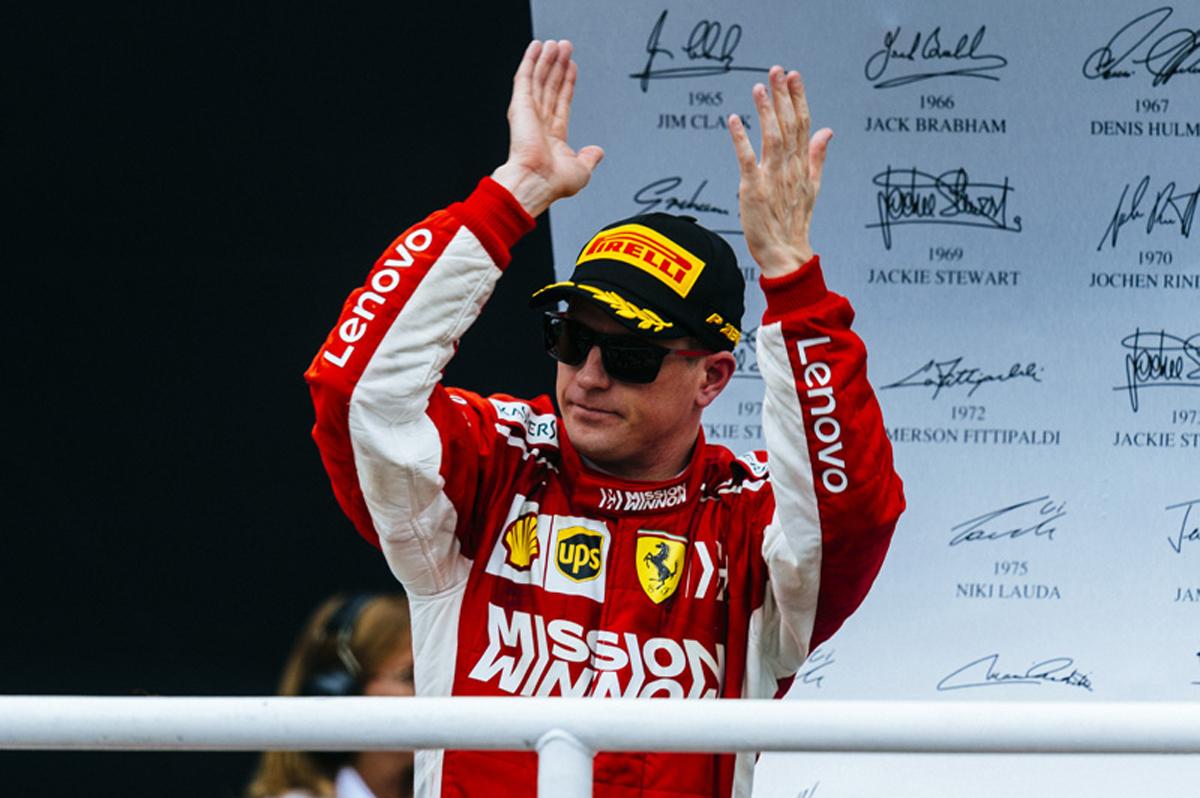 F1 キミ・ライコネン ブラジルGP