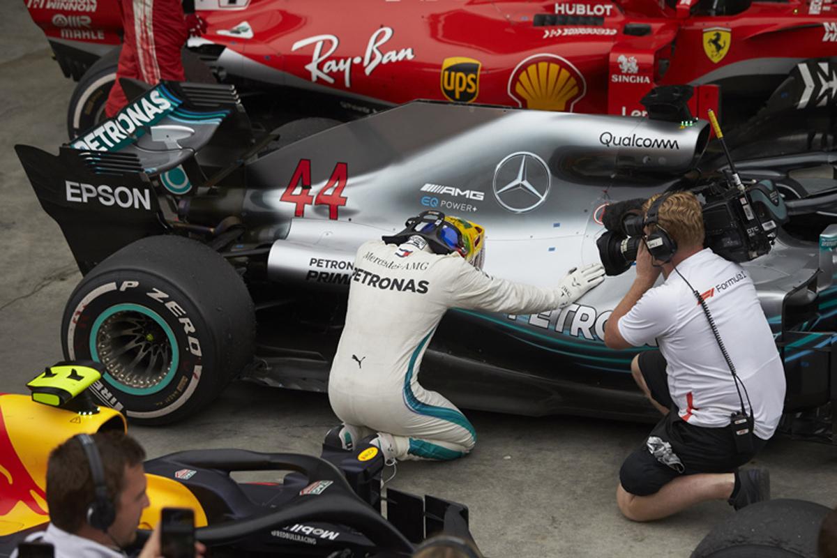 F1 ルイス・ハミルトン メルセデス ブラジルGP