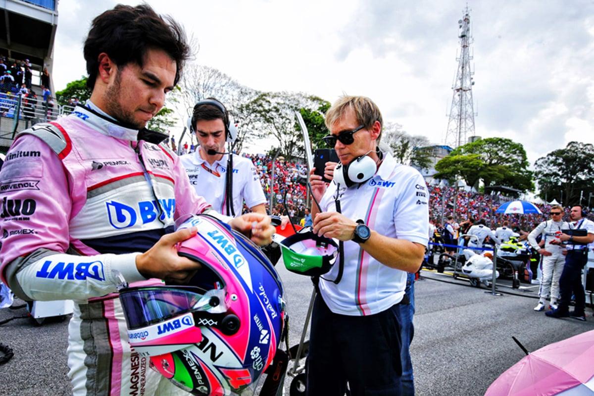 F1 セルジオ・ペレス ブラジルGP
