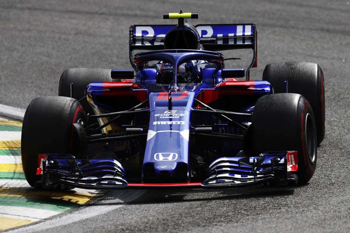 F1 トロロッソ・ホンダ ブラジルGP
