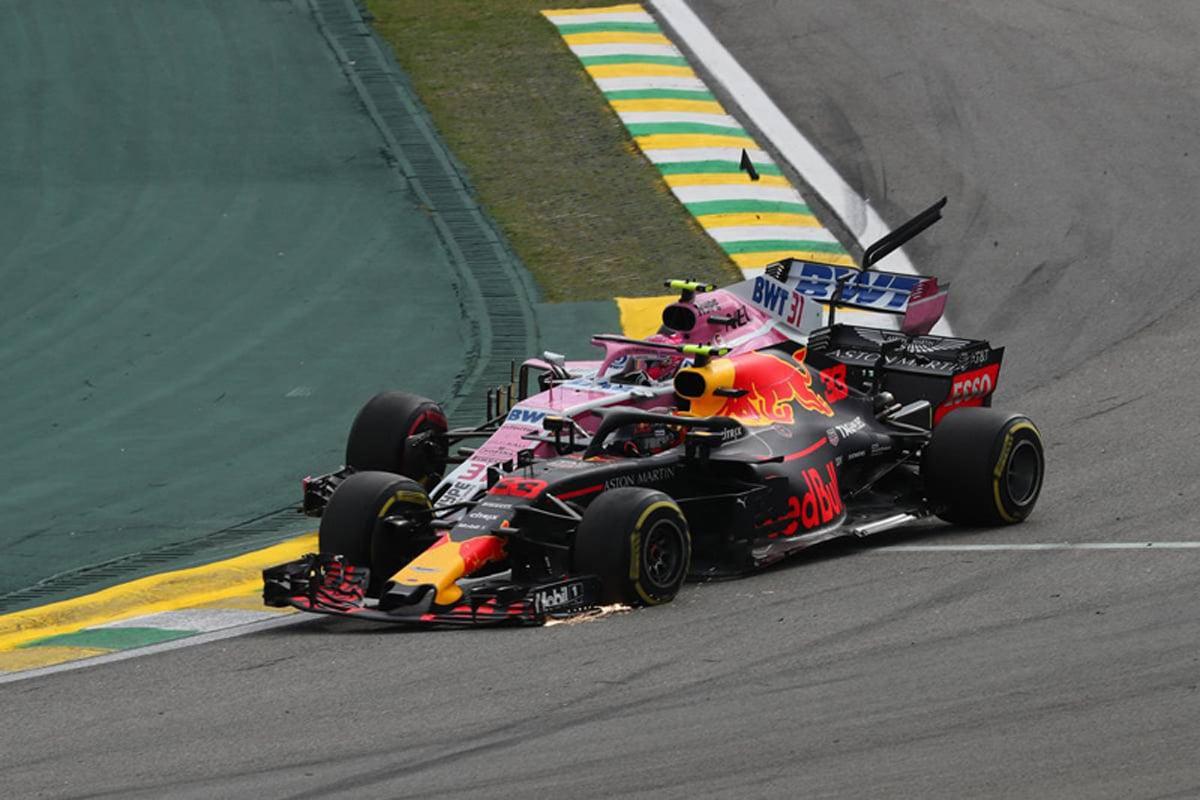 F1 エステバン・オコン ブラジルGP