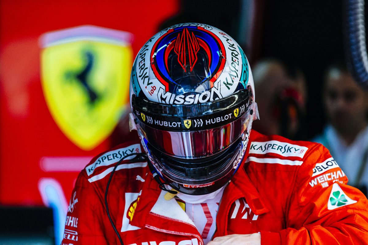 F1 フェラーリ ブラジルGP
