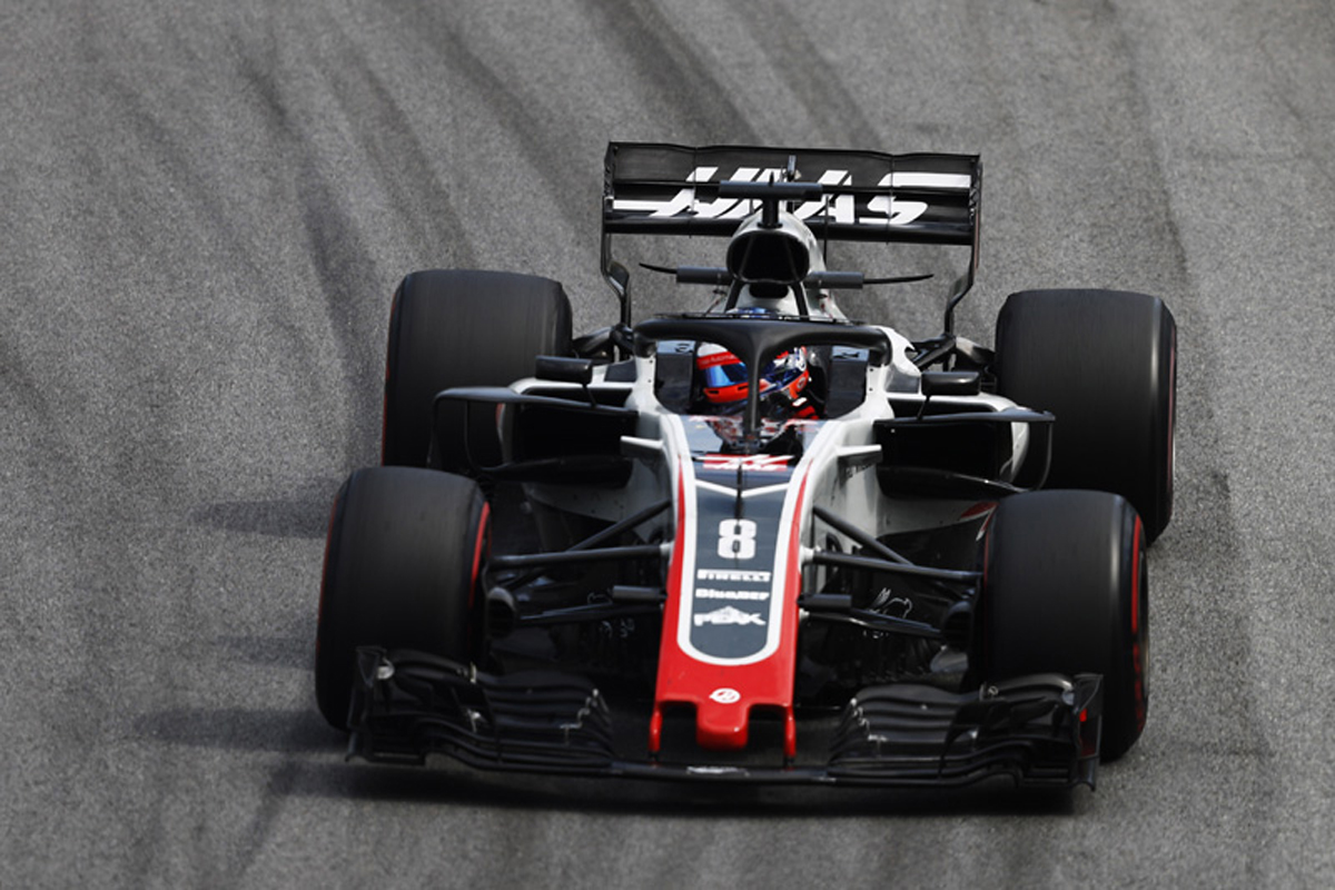 F1 ハースF1チーム ブラジルGP