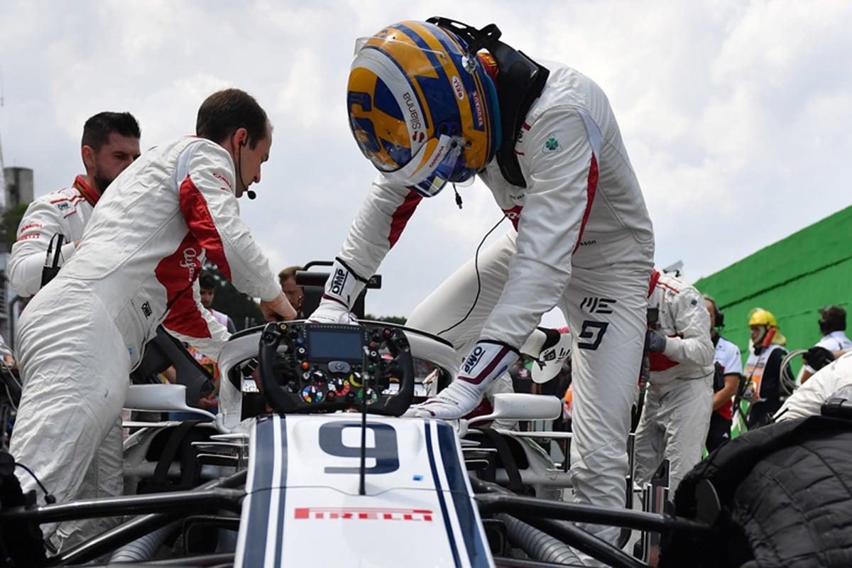 F1 マーカス・エリクソン ブラジルGP
