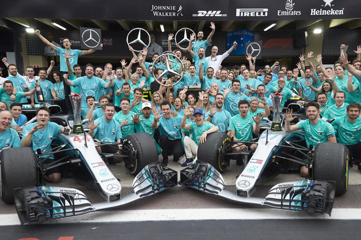 F1 メルセデスAMG ブラジルGP