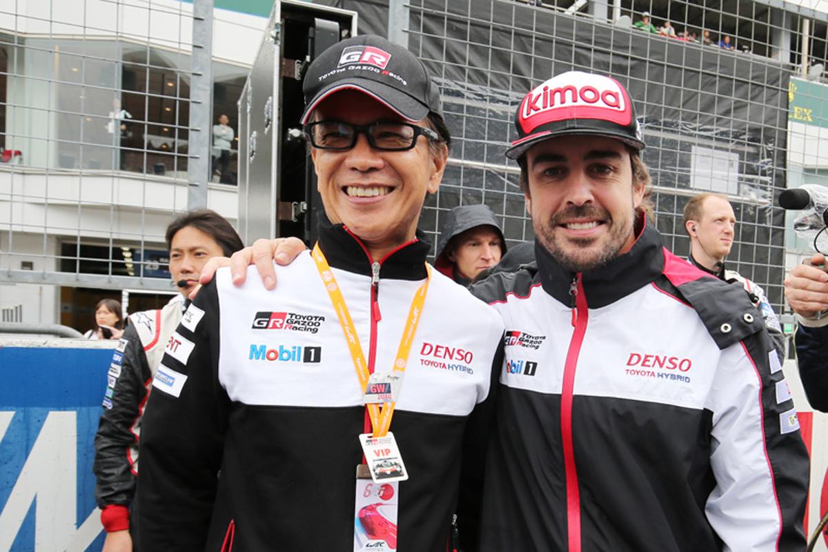 F1 フェルナンド・アロンソ トヨタ