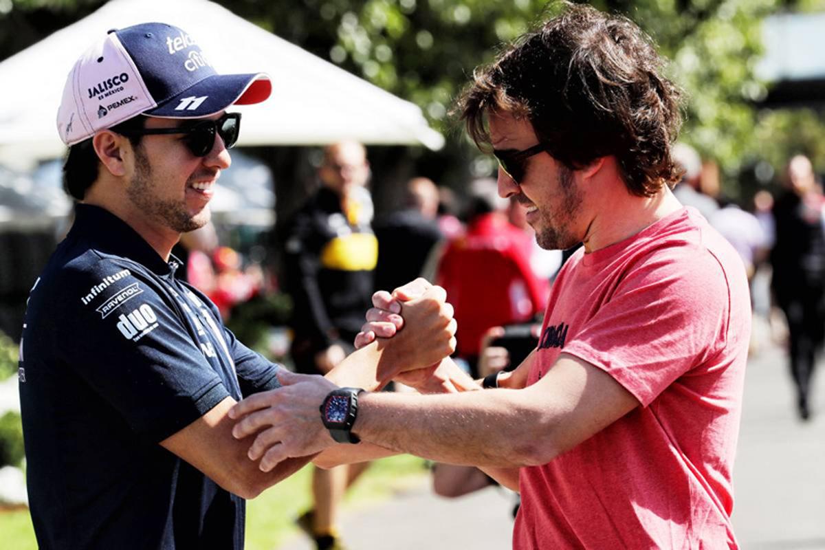 F1 セルジオ・ペレス フェルナンド・アロンソ