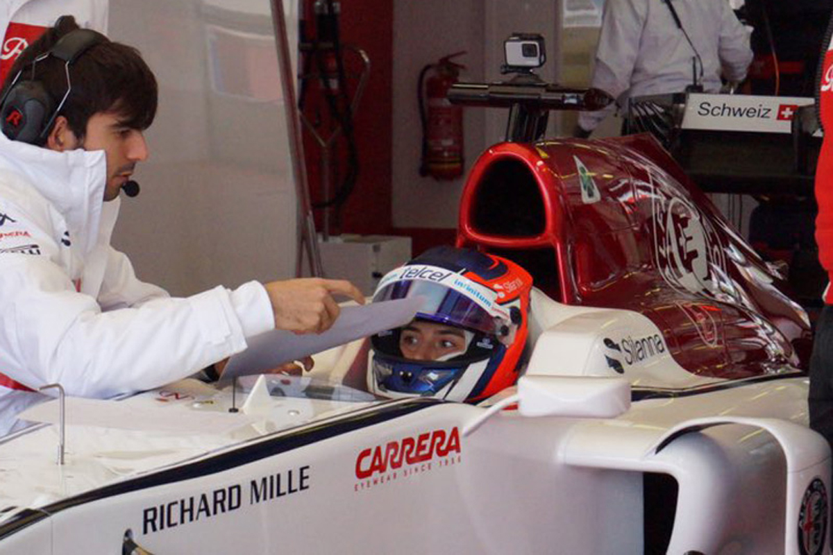 F1 タチアナ・カルデロン ザウバー