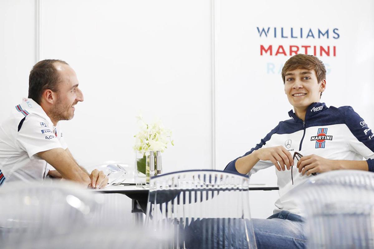 F1 ロバート・クビサ ウィリアムズ