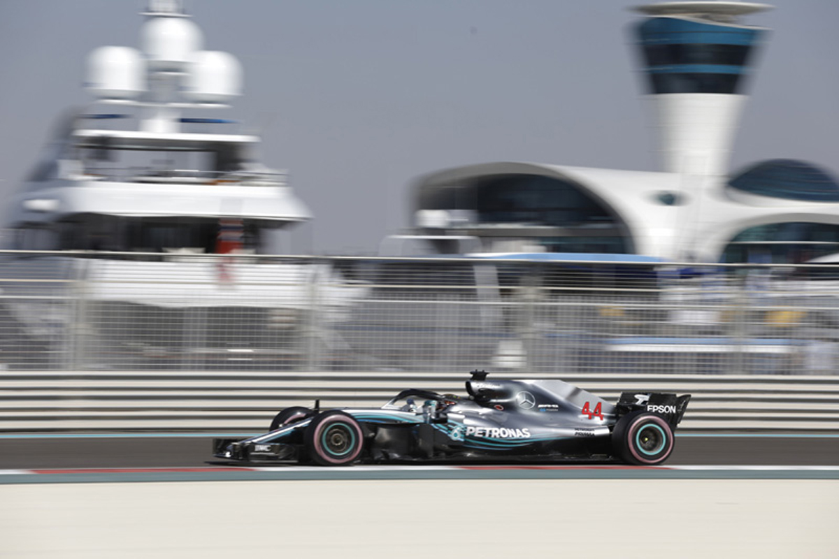 F1アブダビGP フリー走行3回目