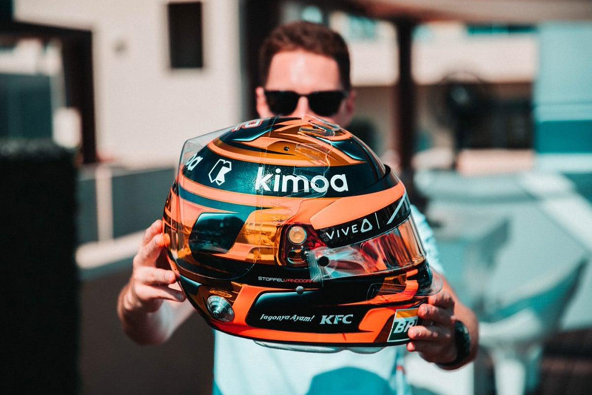 F1 ストフェル・バンドーン マクラーレン