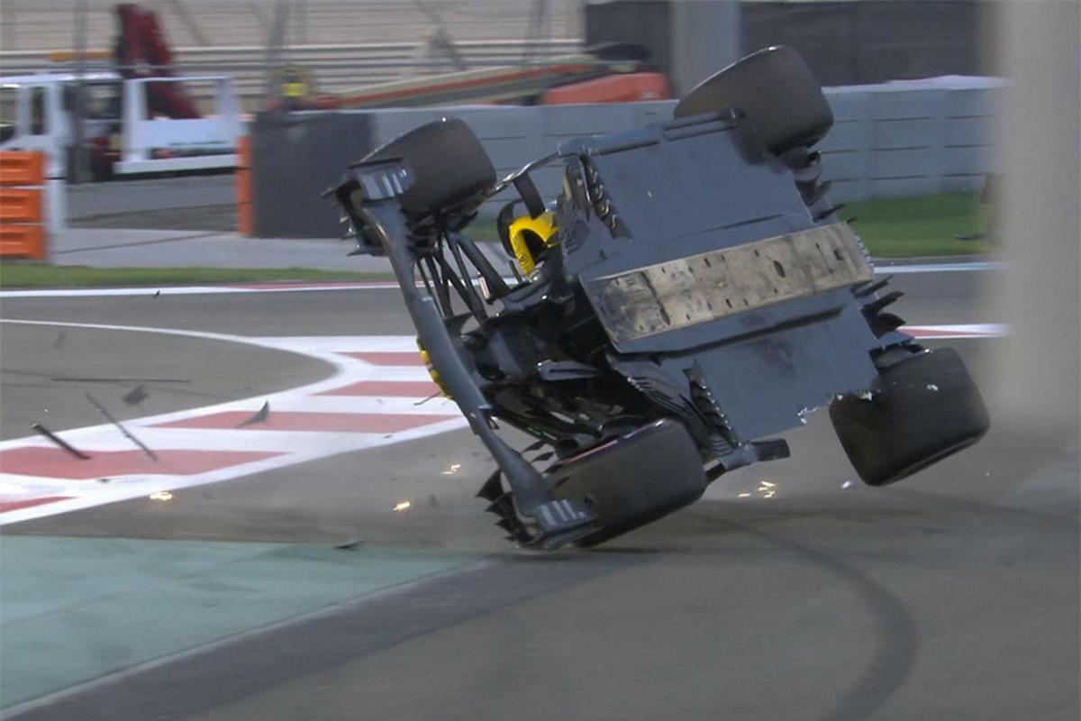 F1 ニコ・ヒュルケンベルグ アブダビGP