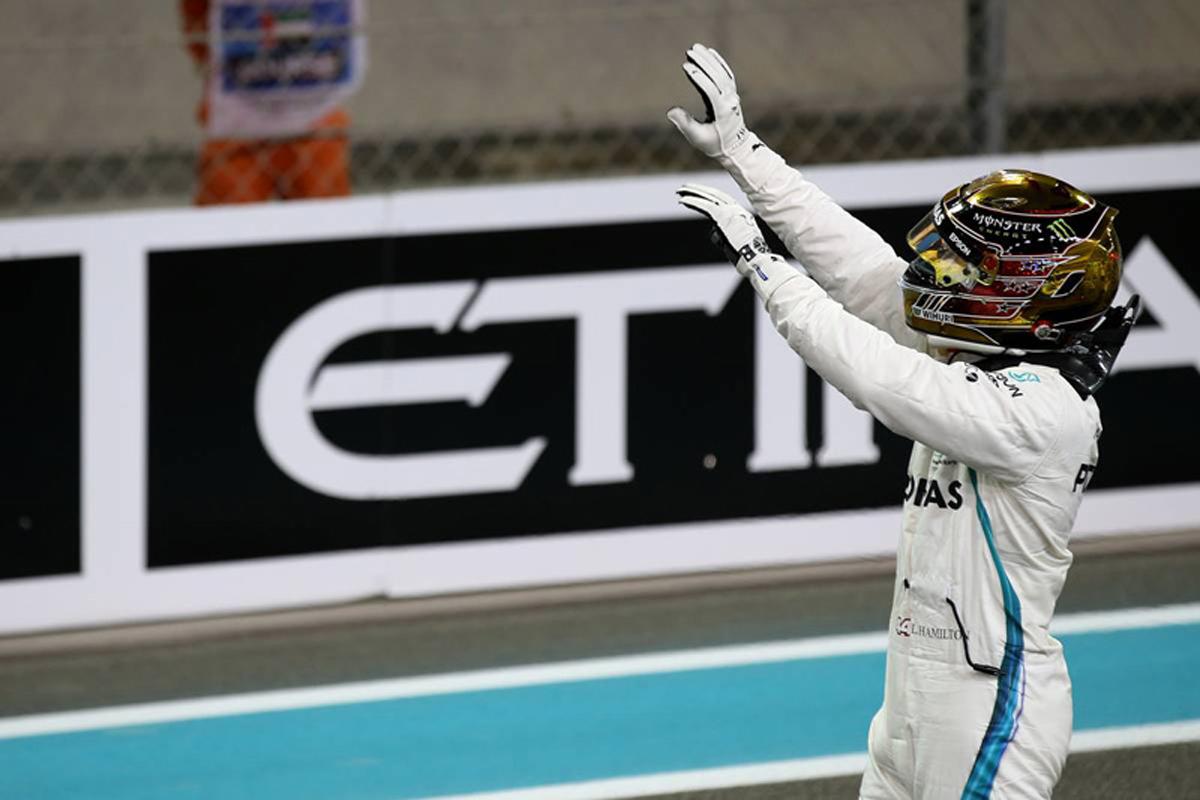 F1 ルイス・ハミルトン アブダビGP