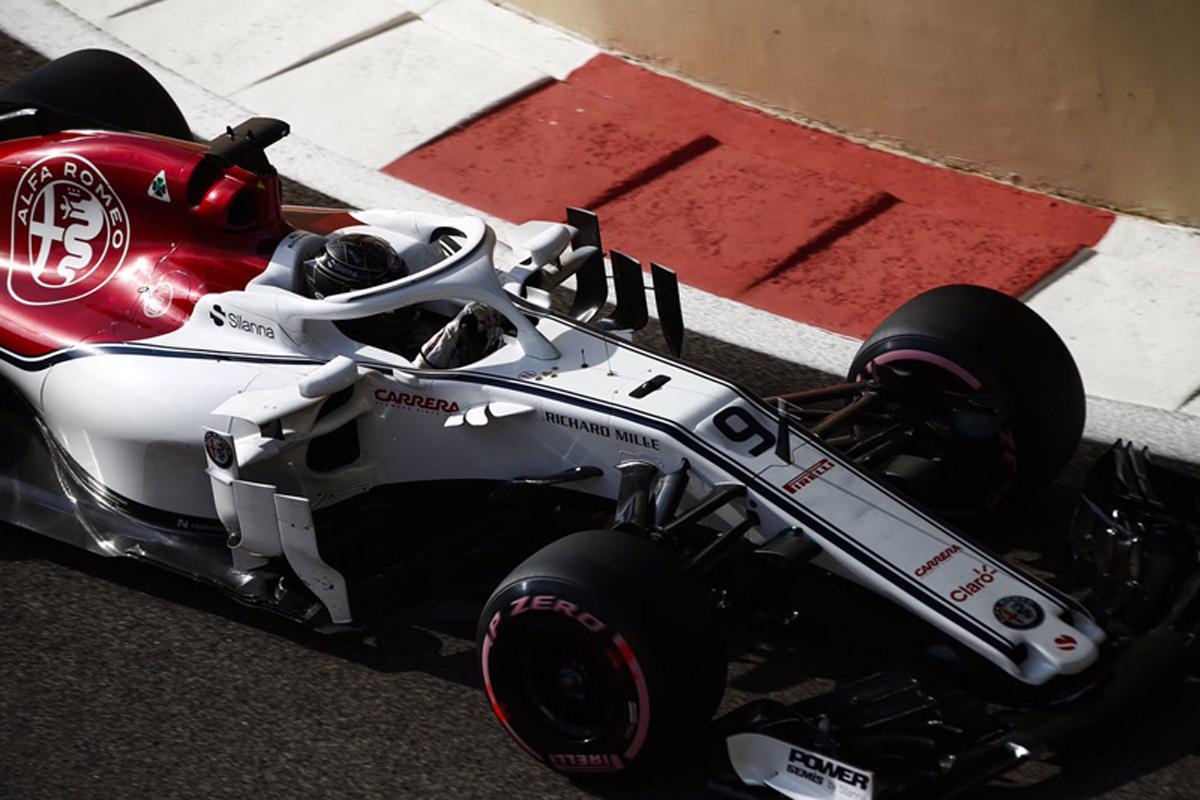 F1 マーカス・エリクソン アブダビGP