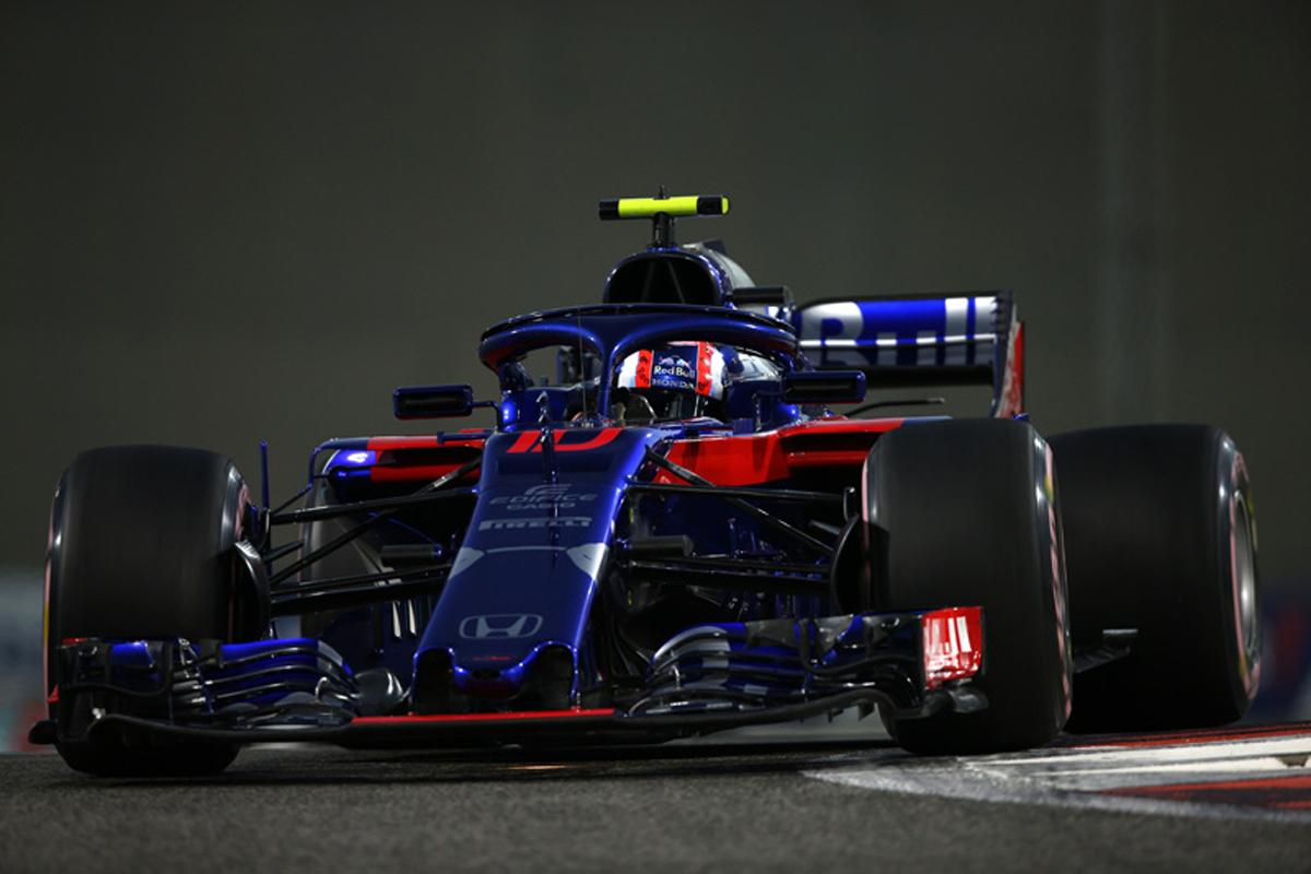 F1 トロロッソ・ホンダ アブダビGP