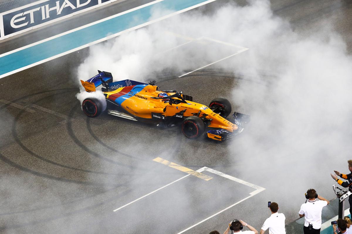 フェルナンド・アロンソ F1ラストレース