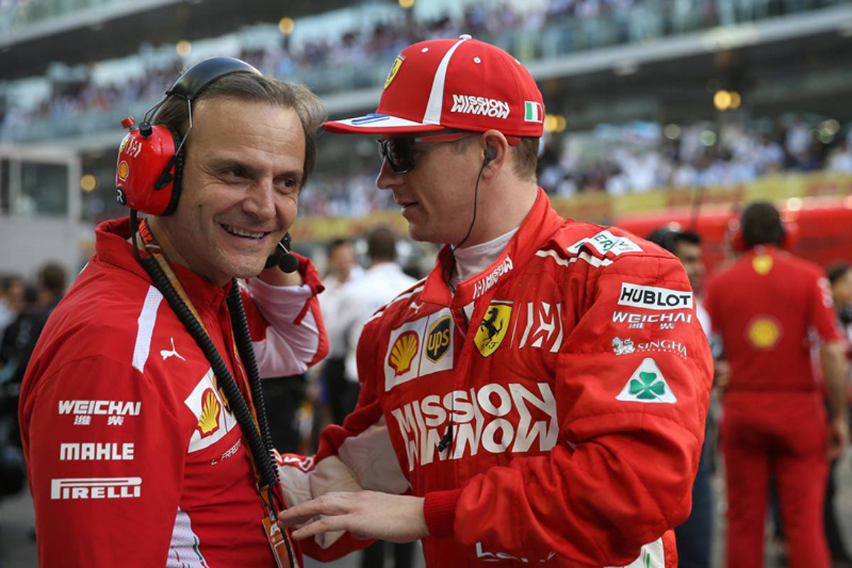 F1 キミ・ライコネン フェラーリ