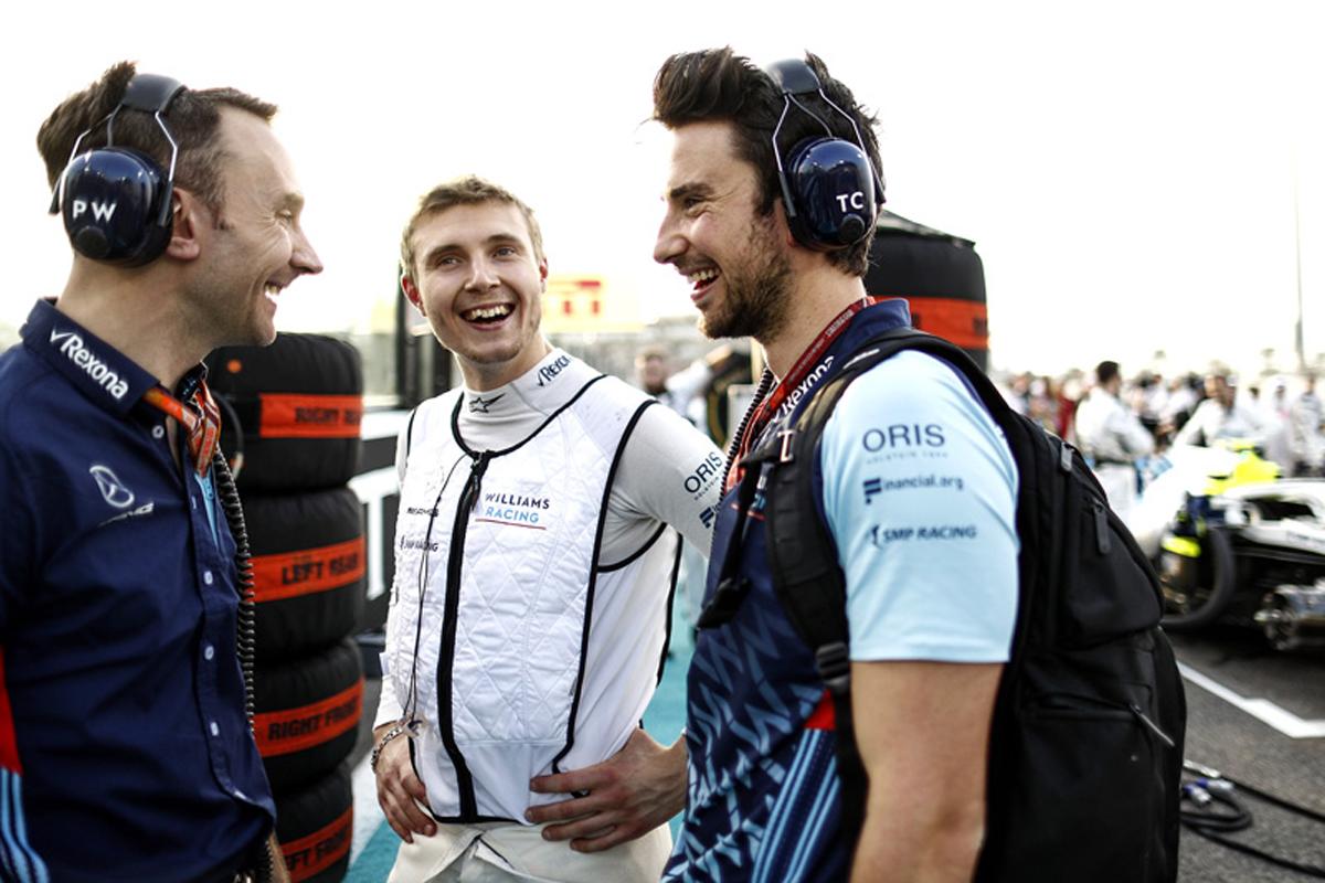 F1 ウィリアムズ セルゲイ・シロトキン