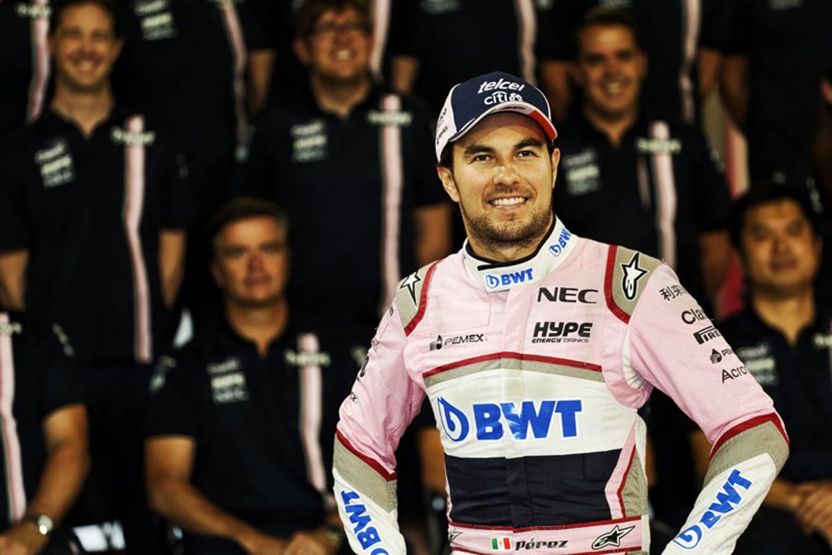 F1 セルジオ・ペレス アブダビGP