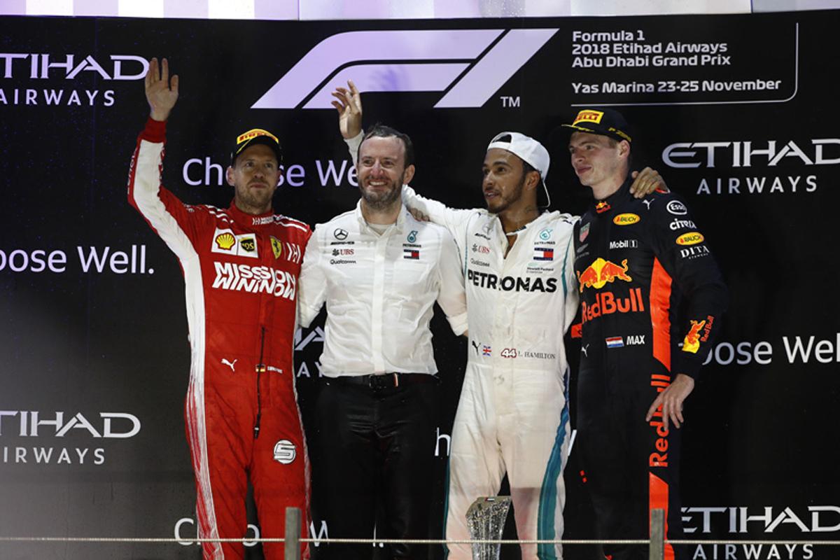 F1 アブダビGP 決勝