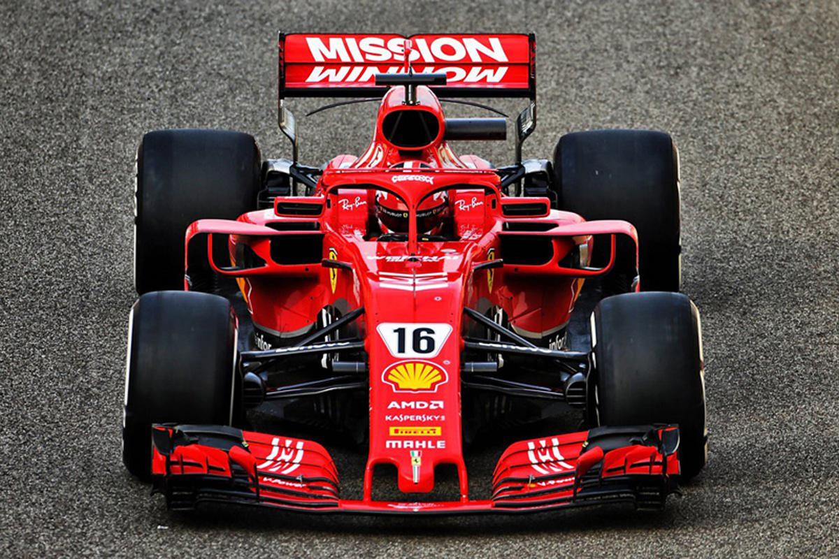 F1 アブダビテスト シャルル・ルクレール
