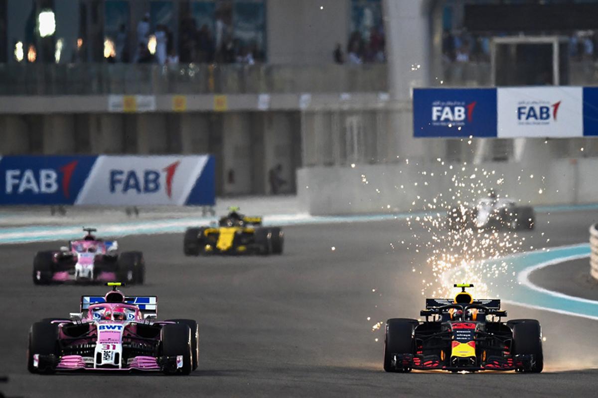F1 マックス・フェルスタッペン エステバン・オコン